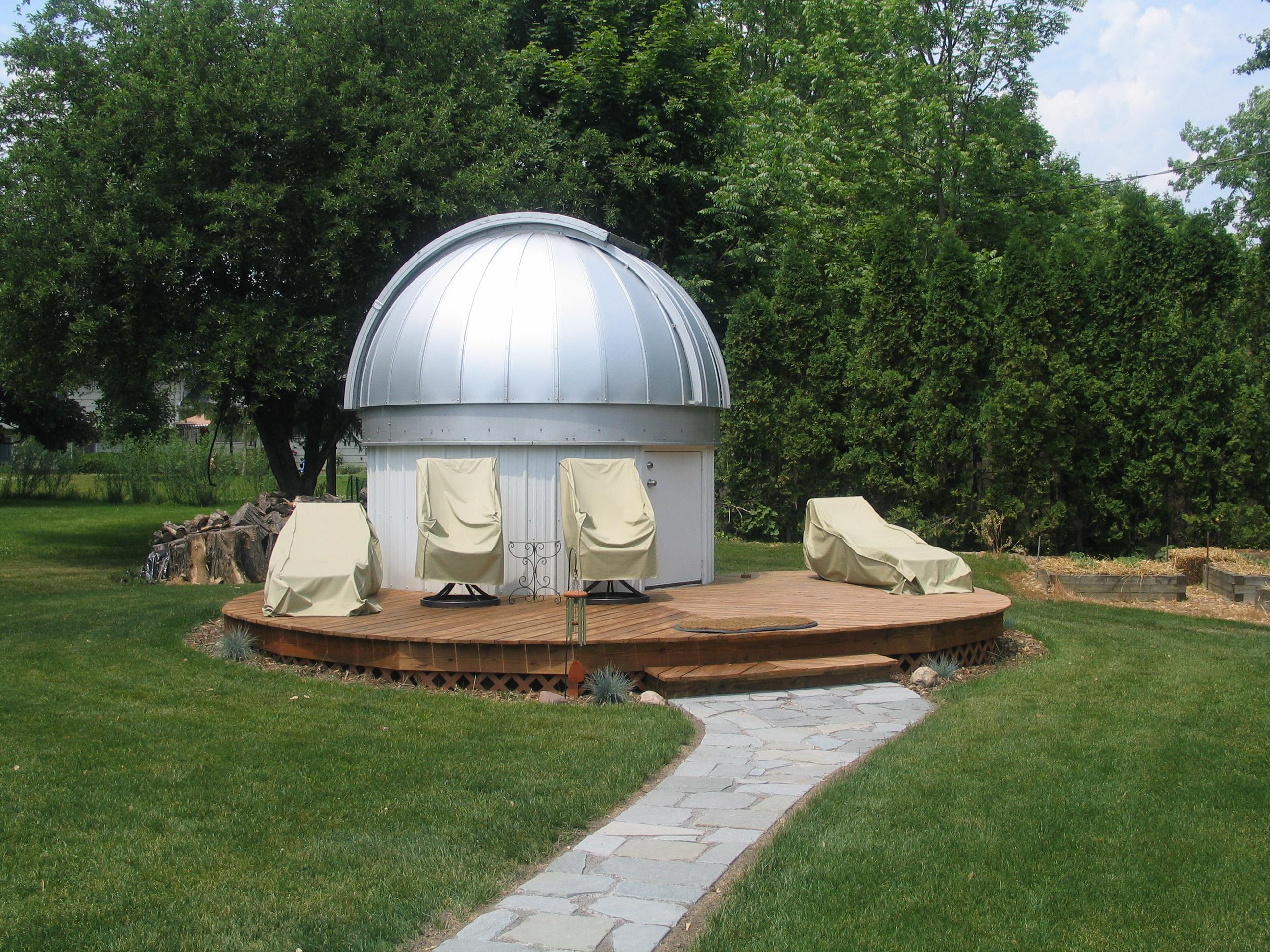 skyshed pod dome backyard observatory skyshed pod skypod pod max